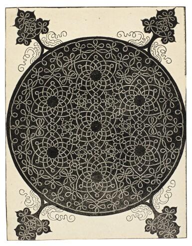 View 2. Thumbnail of Lot 30.  ALBRECHT DÜRER  |  INTERLACED CORD PATTERNS (B. 140, 142-143, 145; M. 274, 276-277, 279).