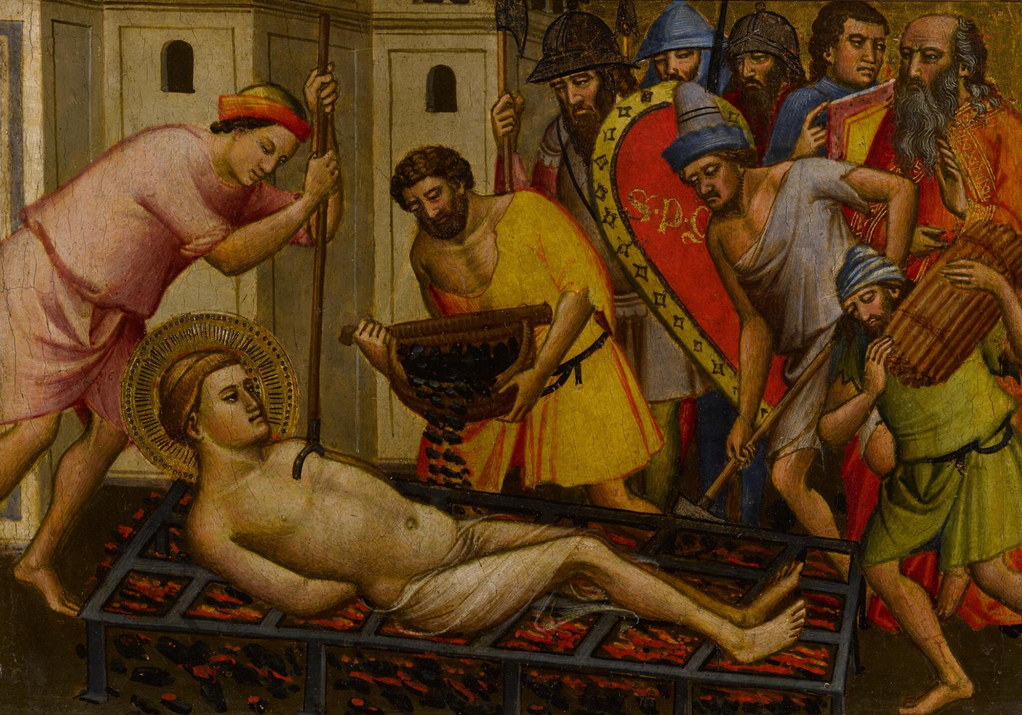 View full screen - View 1 of Lot 4. The Martyrdom of Saint Lawrence.