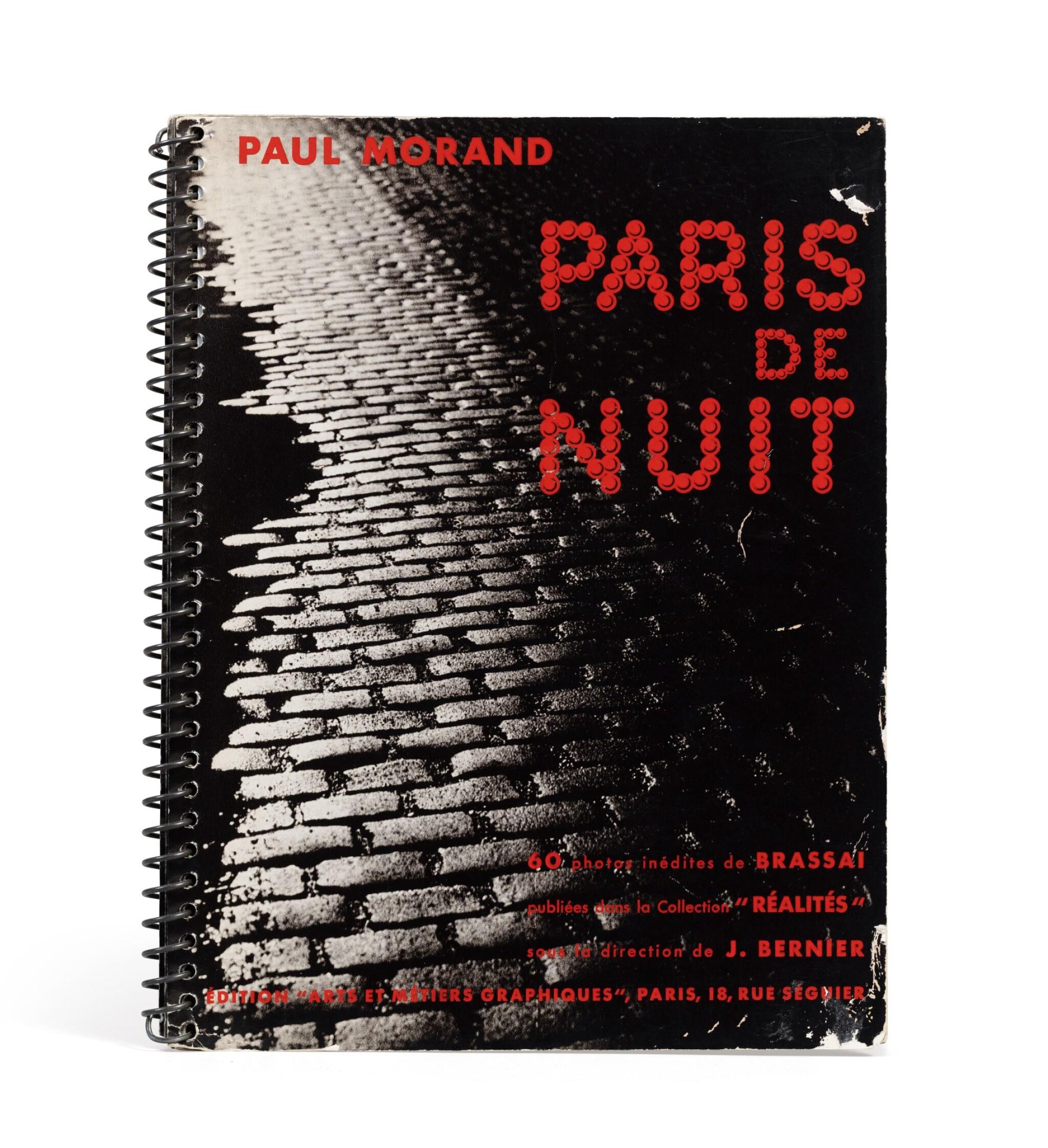 View full screen - View 1 of Lot 63. (book) Paris de Nuit, 1932.