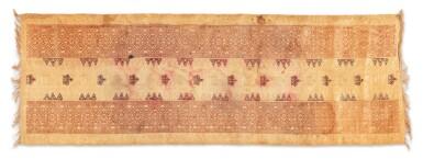 View 8. Thumbnail of Lot 6. Un textile cérémoniel pua et trois nattes, Indonésie | A ceremonial cloth pua and three mats, Indonesia.
