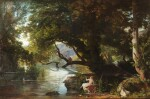 A classical landscape with Echo and Narcisse