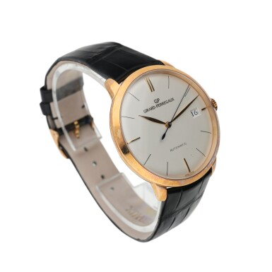 REFERENCE 49527 1966 A PINK GOLD AUTOMATIC WRISTWATCH WITH DATE, CIRCA 2012