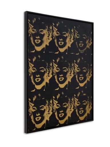 View 2. Thumbnail of Lot 124. 9 Gold Marilyns (Reversal Series) | 《九幅瑪麗蓮・夢露(反面系列)》.