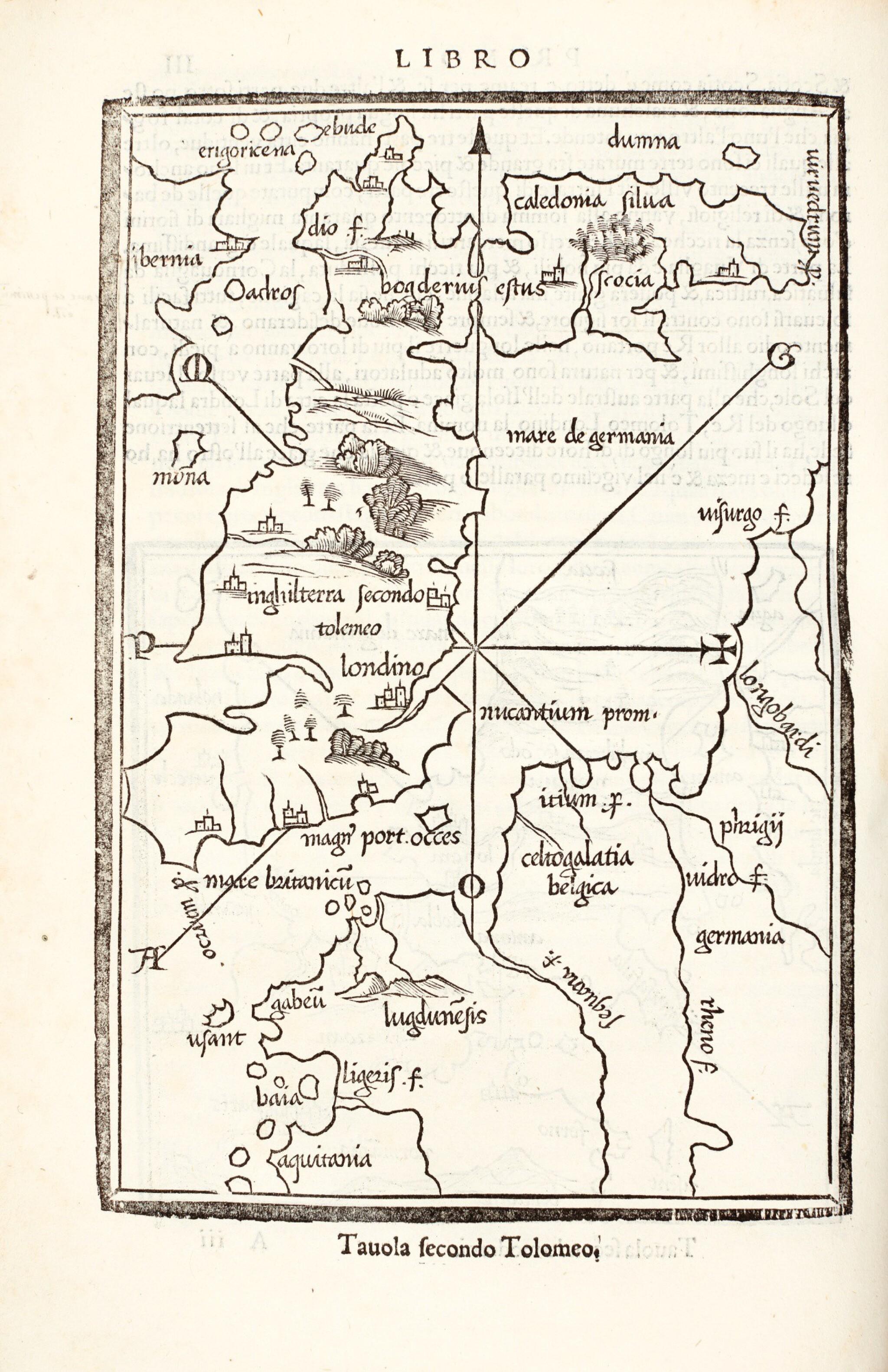 View full screen - View 1 of Lot 125. Bordone | Isolario, 1547.