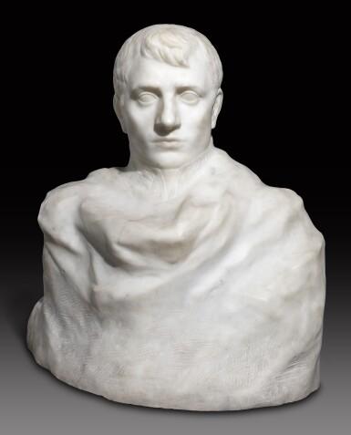 View 1. Thumbnail of Lot 1016. Auguste Rodin 奧古斯特・羅丹 | Napoléon Enveloppé dans Son Réve 逐夢的拿破崙.