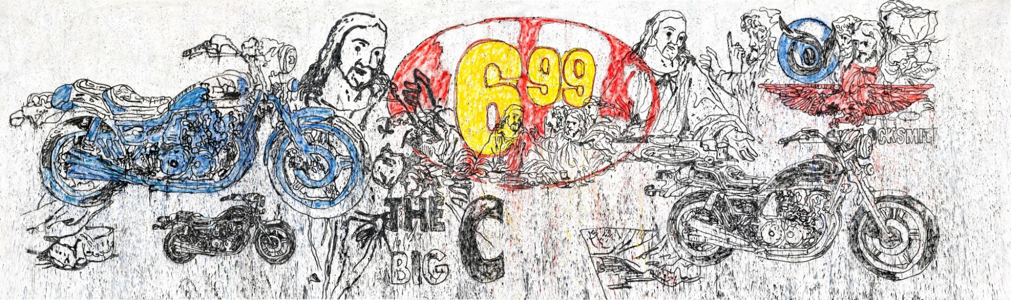 View full screen - View 1 of Lot 40. The Last Supper (The Big C) II (inspired by Andy Warhol)   最後的晚餐(THE BIG C) II(靈感自安迪·沃荷 ).