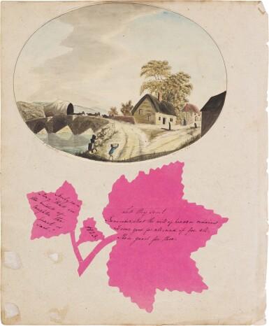 View 5. Thumbnail of Lot 208. The Mason Family Album, 1794-1862.