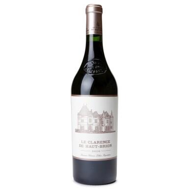 Le Clarence de Haut Brion 2010, Pessac-Leognan - 6 Bottles (0.75L)