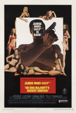 On Her Majesty's Secret Service (1969) poster, US