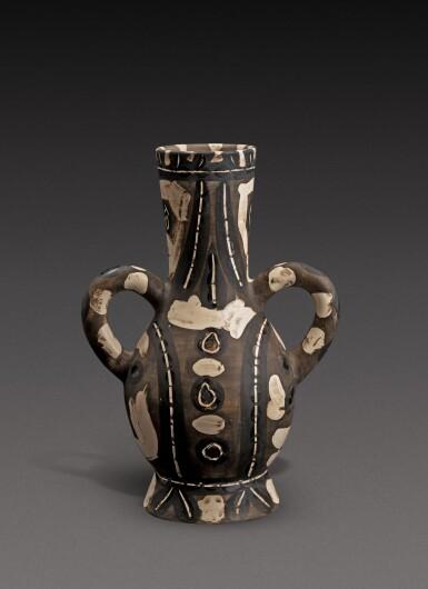 View 4. Thumbnail of Lot 11. Vase deux anses hautes (A. R. 141).