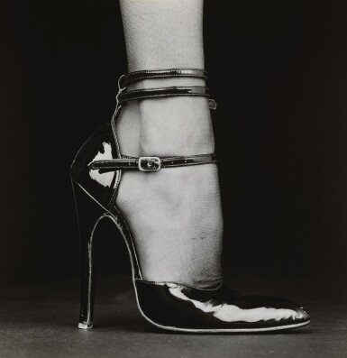 View 2. Thumbnail of Lot 77. ROBERT MAPPLETHORPE | MELODY (SHOE), 1987.