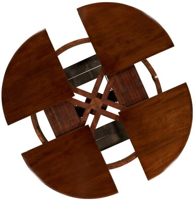 View 7. Thumbnail of Lot 11. AN EARLY VICTORIAN EXPANDING DINING TABLE BY JOHNSTONE & JEANES, MID-19TH CENTURY.