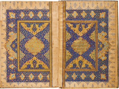A LARGE ILLUMINATED QUR'AN, INDIA, MUGHAL, 16TH CENTURY