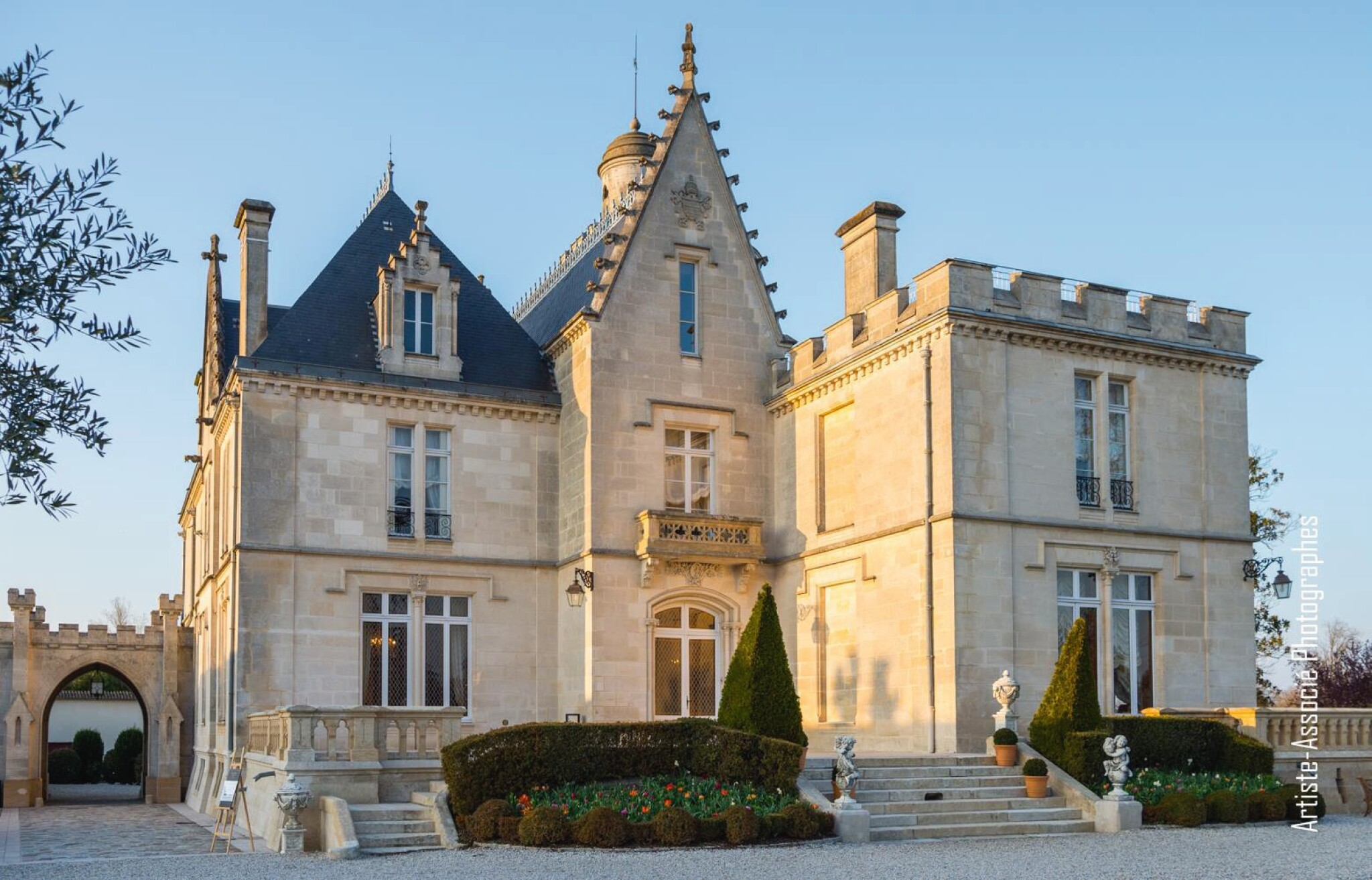 View full screen - View 1 of Lot 27. MAGREZ LUXURY EXPERIENCE: 1 BOTTLE PAPE-CLÉMENT PC4, WITH TASTING AT THE CHÂTEAU,  MICHELIN STAR DINNER & OVERNIGHT STAY AT FIVE STAR HOTEL .