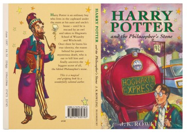 View 2. Thumbnail of Lot 274. Rowling, Harry Potter and the Philosopher's Stone, 1997, uncorrected proof copy.