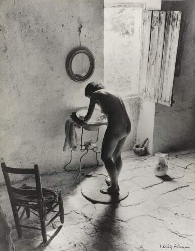 View 1. Thumbnail of Lot 261. WILLY RONIS   LE NU PROVENÇAL, GORDES, 1940.