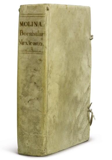 View 1. Thumbnail of Lot 2199. [MEXICAN INCUNABLE] Vocabulario de Alonso Molina. México, Juan Pablos, 1555.