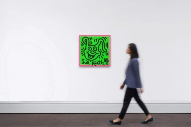 View 3. Thumbnail of Lot 568. Keith Haring 凱斯・哈林 | Untitled (Lil Keith) 無題(小凱斯).