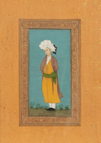 View 1. Thumbnail of Lot 71. NORTHERN INDIA AND DECCAN, 19TH CENTURY | FOUR PORTRAITS.