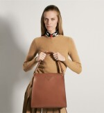PRADA | LOUISE LEATHER TOTE, WORN BY LEXI BOLING