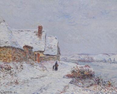 View 1. Thumbnail of Lot 7. La Neige à Tournedos sur Seine.