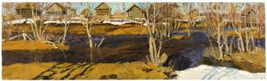 View 1. Thumbnail of Lot 50. VLADIMIR FEDOROVICH STOZHAROV | SPRING FLOOD, GLUKHOVKI.