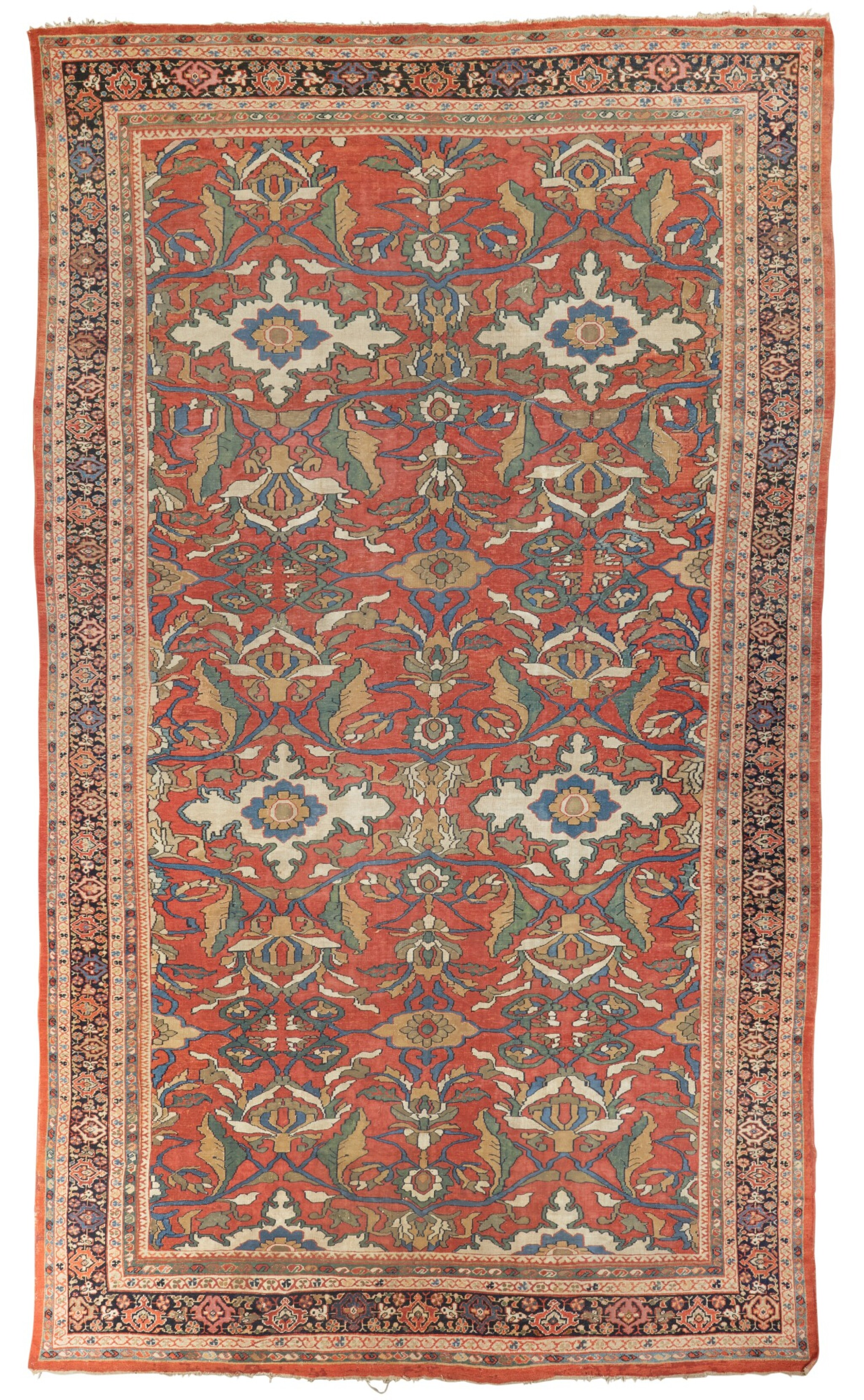 View full screen - View 1 of Lot 10. A 'Ziegler' Mahal carpet, Northwest Persia, late 19th/early 20th century.