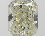 A 2.16 Carat Cut-Cornered Rectangular Modified Brilliant-Cut Diamond, U-V Color, VS2 Clarity