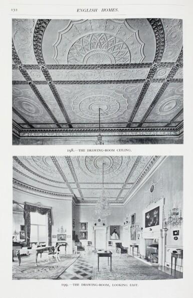 View 1. Thumbnail of Lot 100. Tipping, English Homes, 1920-1937, 9 volumes.