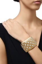 GOLD AND DIAMOND CUFF-BRACELET, BUCCELLATI