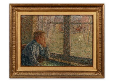 View 3. Thumbnail of Lot 89. Boerin aan het venster (Farmer at the window).
