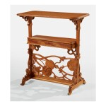 ÉMILE GALLÉ | TWO-TIER OCCASIONAL TABLE