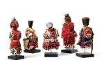 Cinq poupées, Fali, Cameroun | Five Fali dolls, Cameroun