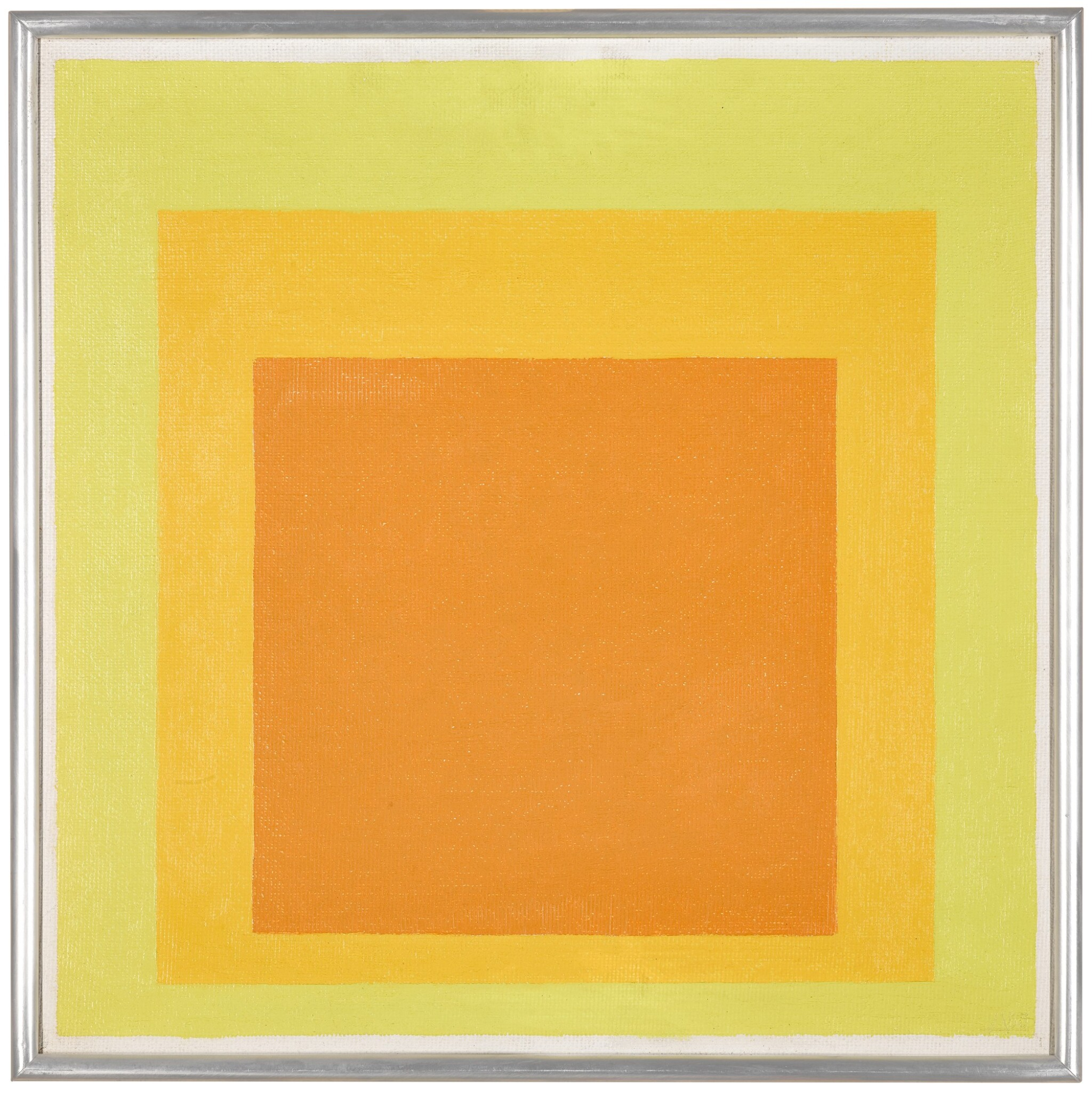 View 1 of Lot 816. JOSEF ALBERS | STUDY FOR HOMAGE TO THE SQUARE: RESOLUTE.
