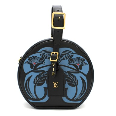 View full screen - View 1 of Lot 20. Anachro Bleu Petite Boite Chapeau. Louis Vuitton. 2018..