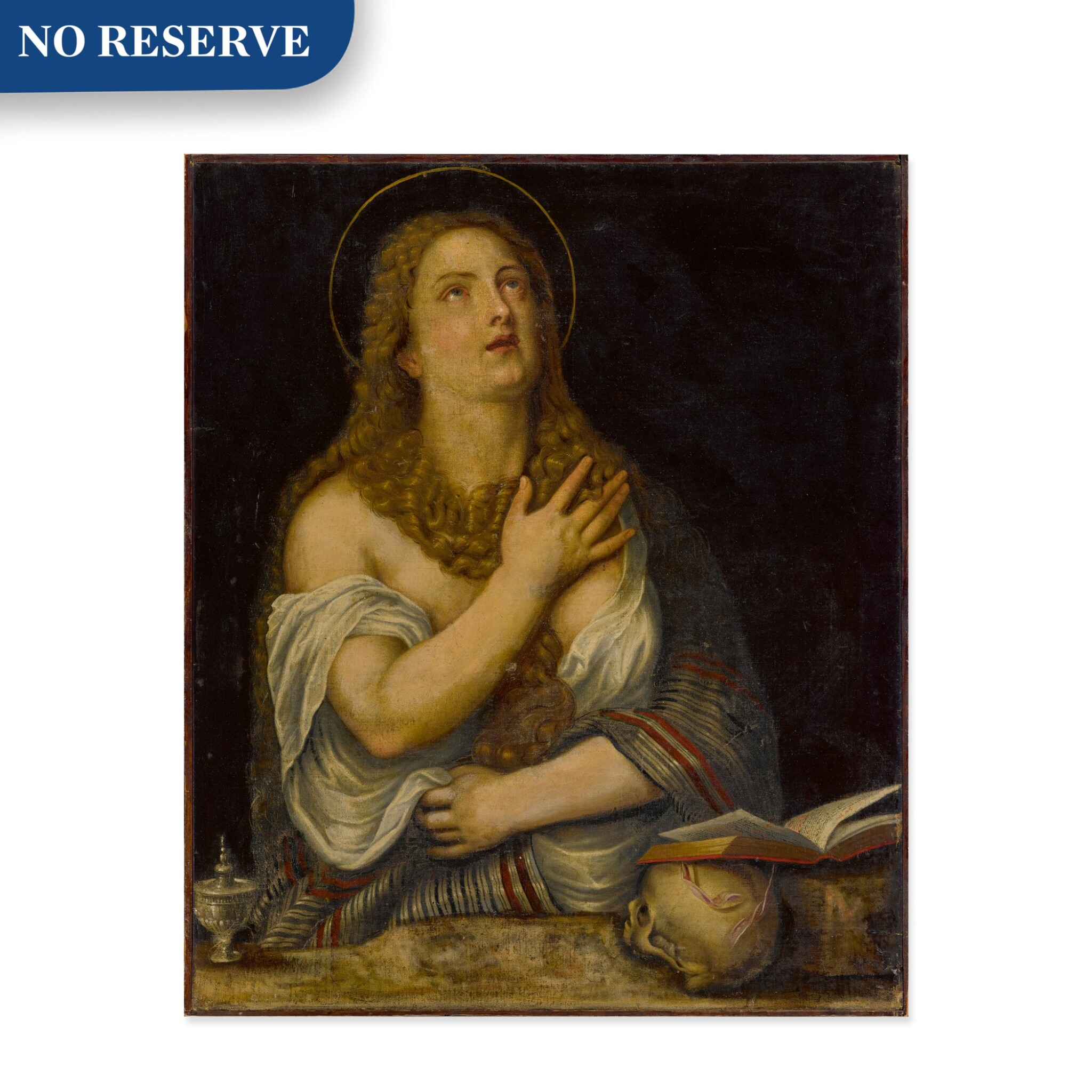 View full screen - View 1 of Lot 15. Penitent Magdalene.