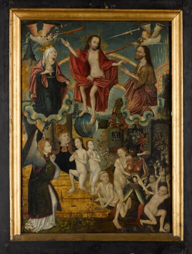 View 2. Thumbnail of Lot 107. SCHOOL OF COLOGNE, CIRCA 1500 | The Last Judgement.