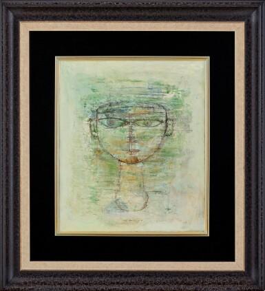 View 2. Thumbnail of Lot 1018. Zao Wou-Ki 趙無極 | Portrait d'homme 男子肖像.