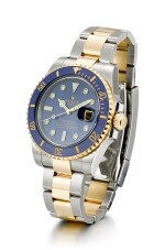 ROLEX  |  SUBMARINER, REFERENCE 116613,  A STAINLESS STEEL, YELLOW GOLD AND DIAMOND-SET WRISTWATCH WITH DATE AND BRACELET, CIRCA 2016