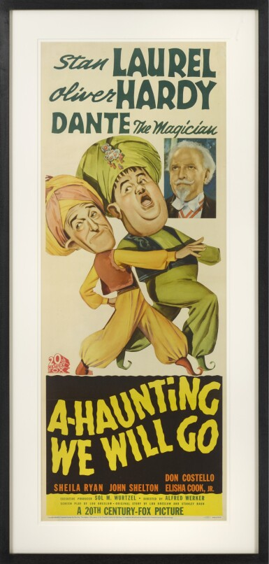 A HAUNTING WE WILL GO (1942) POSTER, US