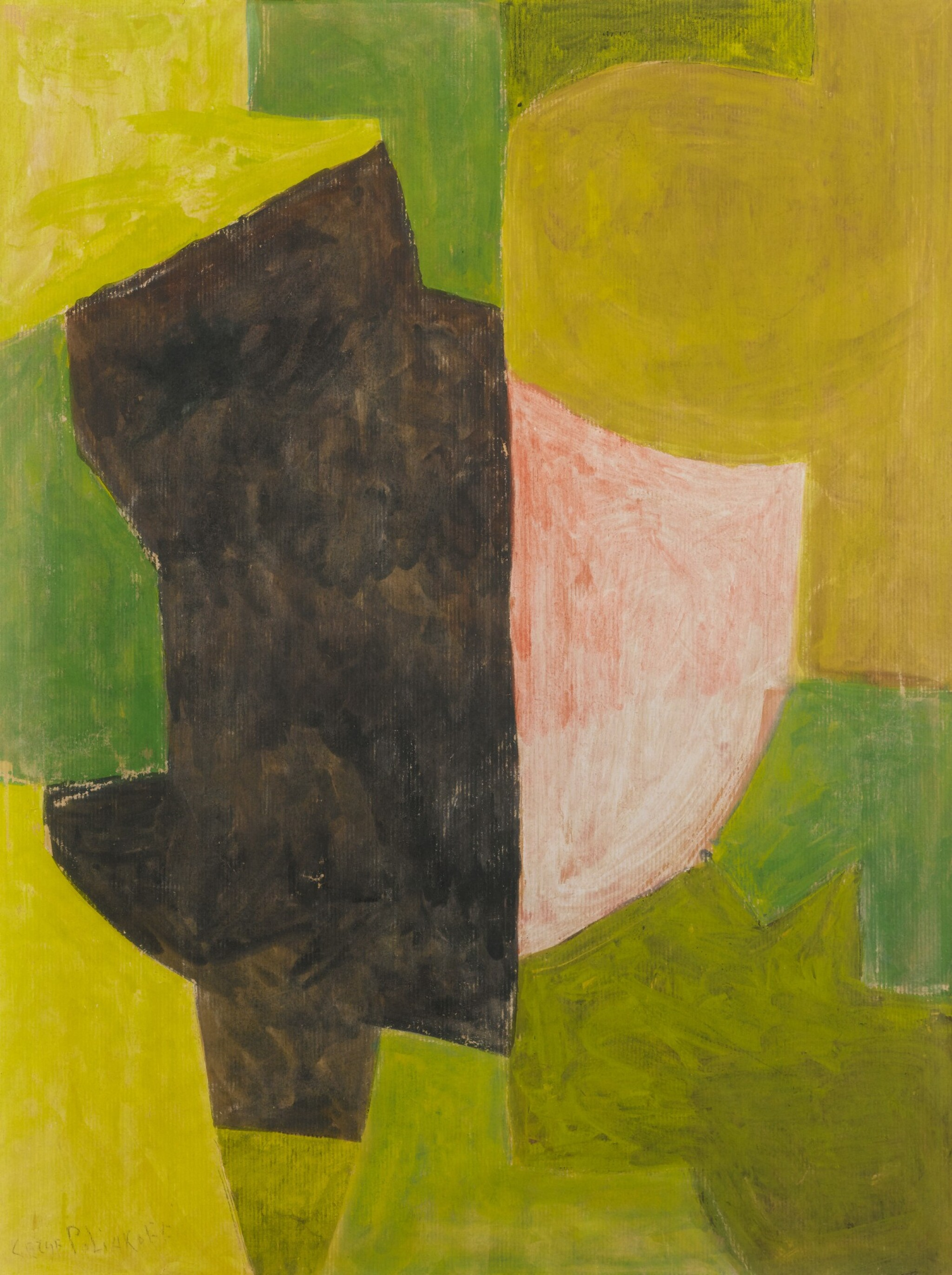 View full screen - View 1 of Lot 19. SERGE POLIAKOFF | COMPOSITION VERTE.