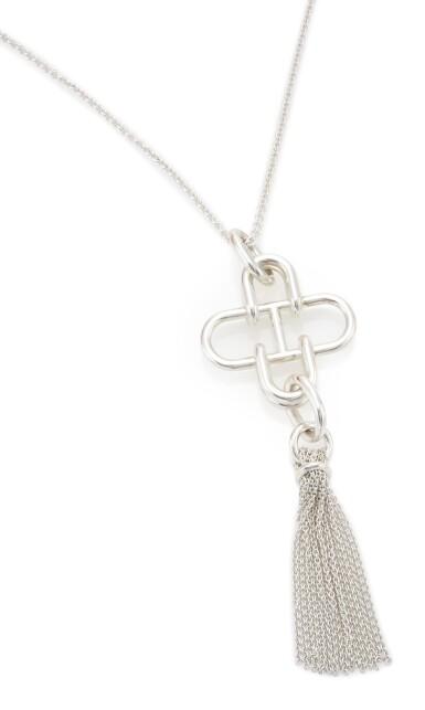 Silver necklace, Rose de Mer, Hermès