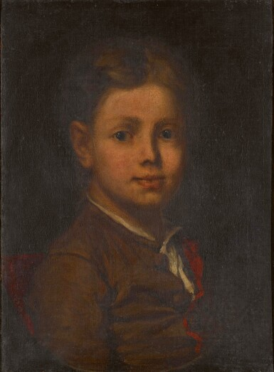 View 1. Thumbnail of Lot 126. Portrait of a child.