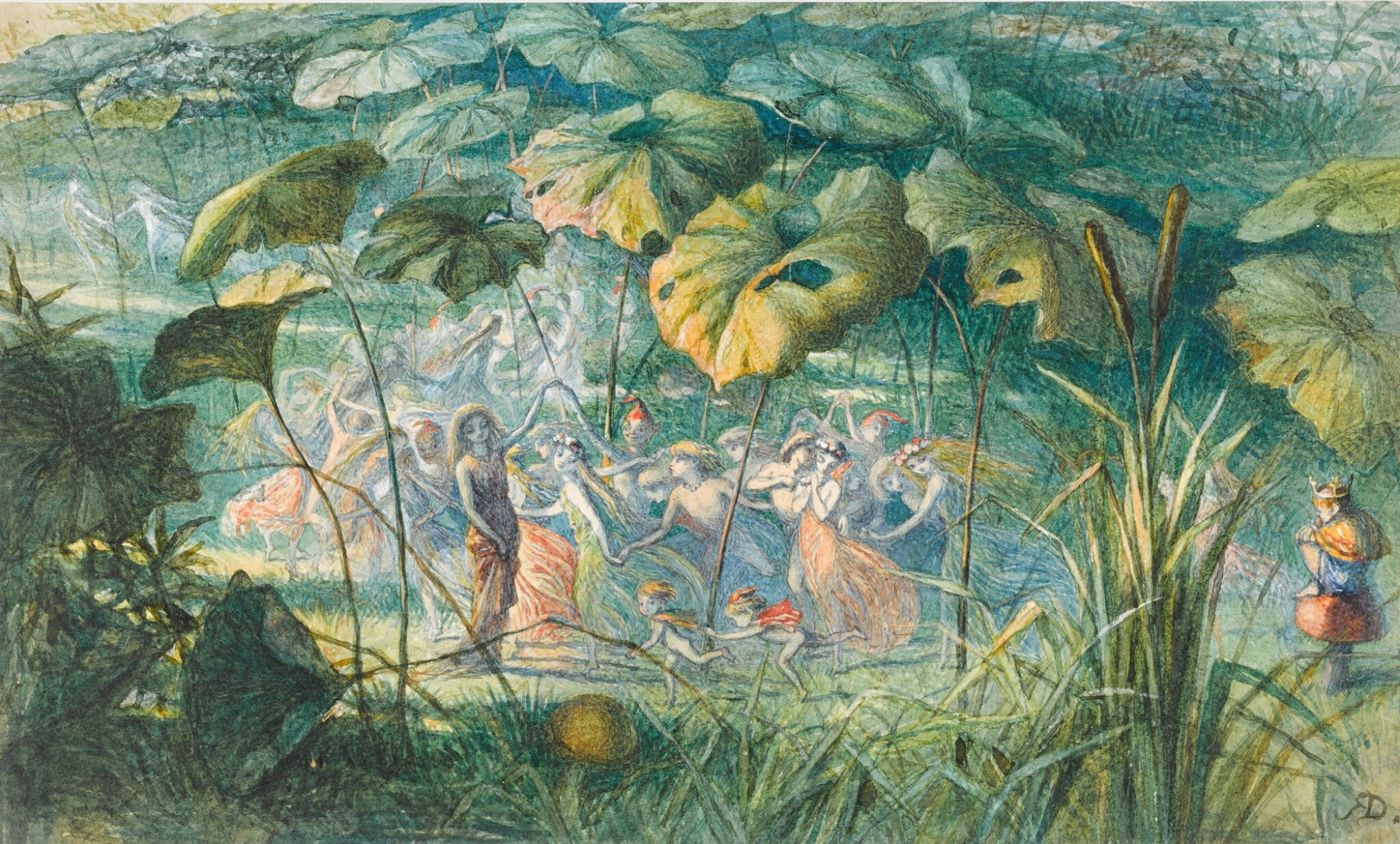 View 1 of Lot 22. In Fairy Land - An Elfin Dance.