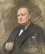 THE RIGHT HON WINSTON S. CHURCHILL O.M. C.H. MP PRIME MINISTER 1940-1945