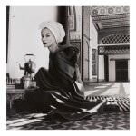 IRVING PENN   'WOMAN IN PALACE (MARRAKECH, MOROCCO, LISA FONSSAGRIVES-PENN)'