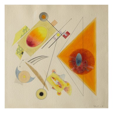LLOYD NEY | UNTITLED (ABSTRACT COMPOSITION)