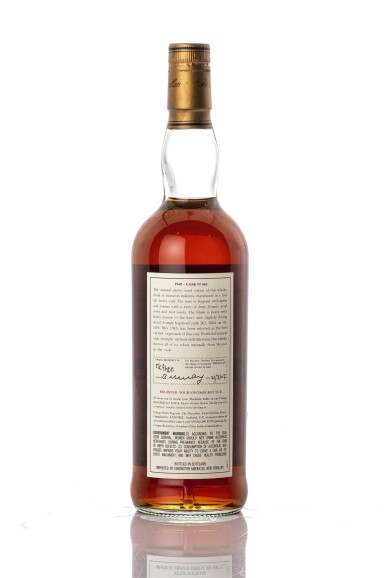 View 3. Thumbnail of Lot 5523. The Macallan Fine & Rare 56 Year Old 51.5 abv 1945 (1 BT75).