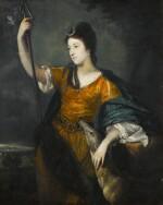 SIR JOSHUA REYNOLDS, P.R.A.   PORTRAIT OF LADY ANNE DAWSON (1733–1769), AS DIANA