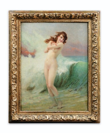 View 2. Thumbnail of Lot 122. GUILLAUME SEIGNAC   THE WAVE.
